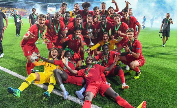 Portugali on alle 19-vuotiaiden jalkapallon Euroopan mestari, vuosimallia 2018.