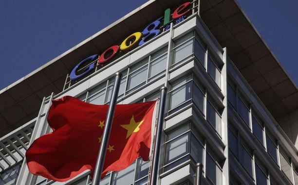 Googlen toiminta Kiinassa uhkaa päättyä.