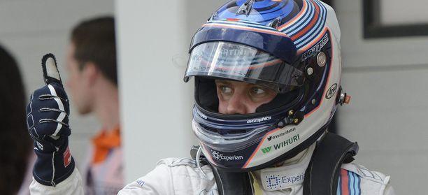 Valtteri Bottas on MM-sarjassa viidentenä.