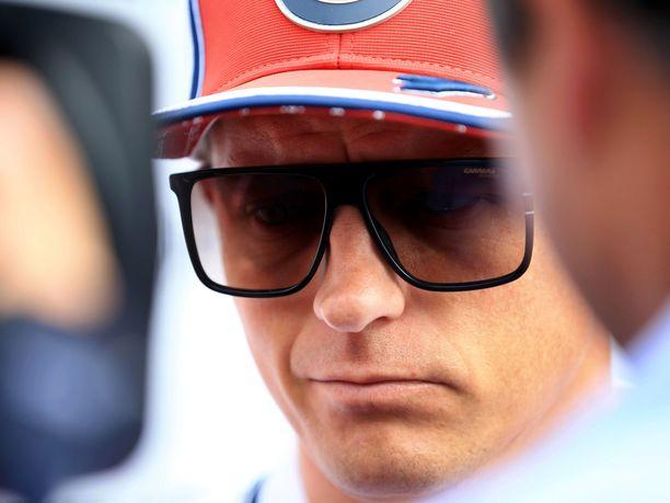 Kimi Räikköselle ei jäänyt Monzan-viikonlopusta juurikaan muisteltavaa.