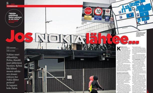 Iltalehti kävi alkuvuodesta 2007 Salossa kysymässä miten kaupungin käy, jos Nokia lopettaa siellä olevan matkapuhelintehtaansa. Nokian kännykkätoiminnot ostanut Microsoft ilmoitti keskiviikkona tekevänsä jo tuolloin pelätyn toimenpiteen.