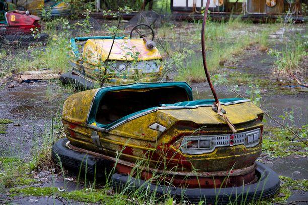 Pripjatin huvipuisto ei kauaa ehtinyt kansaa palvella. Se oli hylättävä Ternobylin onnettomuuden takia.