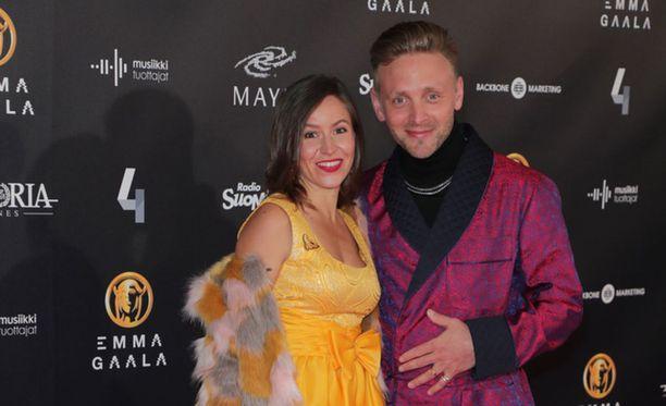 Maria ja Reino Nordin edustivat Emma-gaalassa talvella. Ylen Perjantai-lähetyksessä Maria kehui puolisonsa pärjänneen hyvin mukana synnytyksissä.