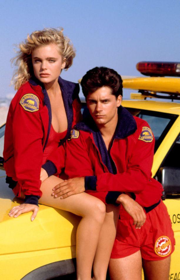 Baywatch-näyttelijöistä tuli pariskunta kuvausten myötä.