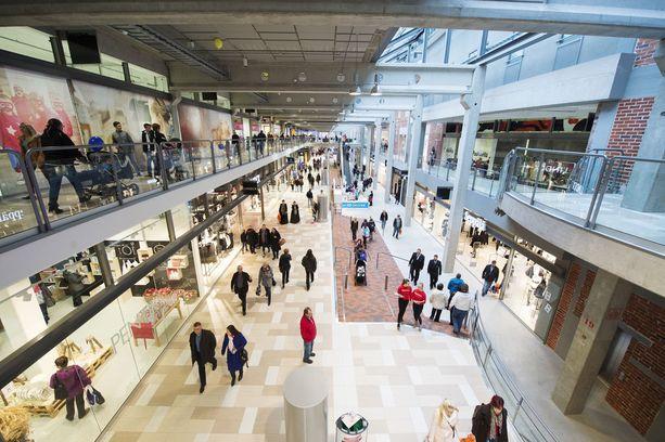 Vuonna 2014 avattu kauppakeskus Puuvilla on lajissaan Satakunnan suurin.