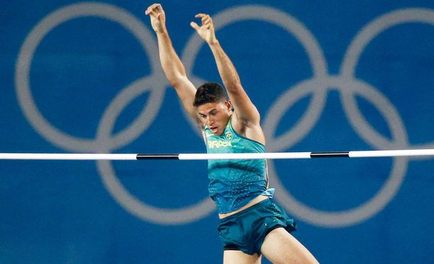 Thiago Braz da Silva yllätti olympiaennätyksellä 603.