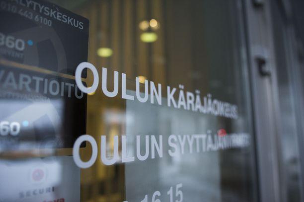 Vangitsemisvaatimusta käsiteltiin Oulun käräjäoikeudessa perjantaina iltapäivällä. Kuvituskuva.