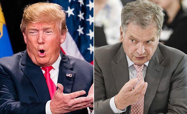 Donald Trumpin tviittien asettaminen Sauli Niinistön suuhun näyttää hätkähdyttävältä.