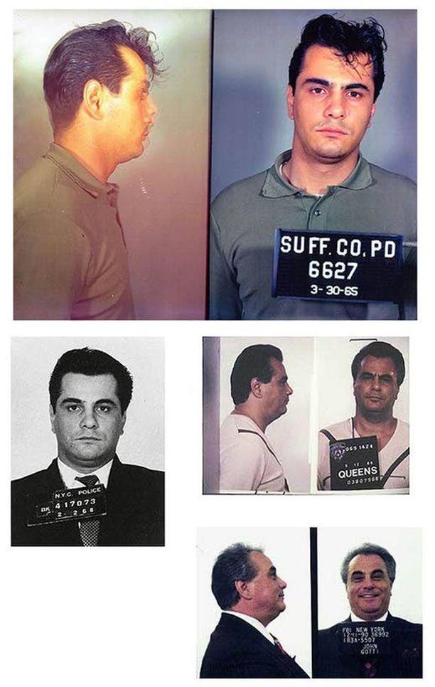 Gotti vanhempi kuoli vuonna 2002. Hän istui useaan otteeseen vankilatuomioita.