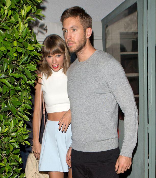 Taylor Swift ja Calvin Harris ovat seurustelleet keväästä lähtien.