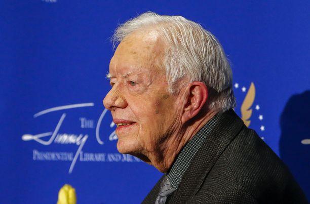 Jimmy Carter työskenteli Yhdysvaltojen presidenttinä vuosina 1977—1981.