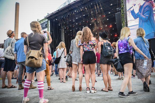 Esimerkiksi Flow Festival pitäisi järjestää Helsingissä elokuussa.
