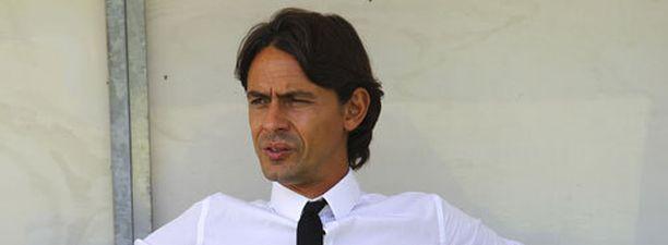 Filippo Inzaghi on AC Milanin uusi päävalmentaja.