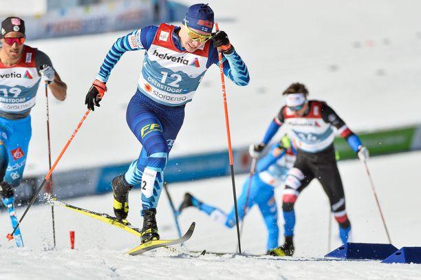 Lauri Vuorinen ja kumppanit ovat saaneet Suomen huoltoporukalta huomattavan kilpailuedun MM-laduilla.