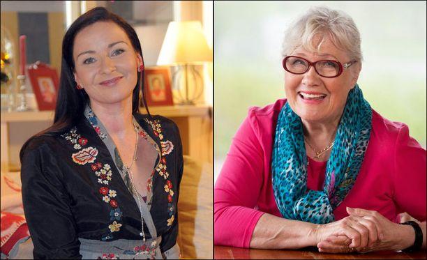 Näyttelijät Johanna Nurmimaa ja Marja-Liisa Peuhu palaavat Salkkareiden tähtikaartiin. Johanna Nurmimaan hahmo Paula Sievisen perhe on vaihtunut lähes kokonaan vuosien aikana.