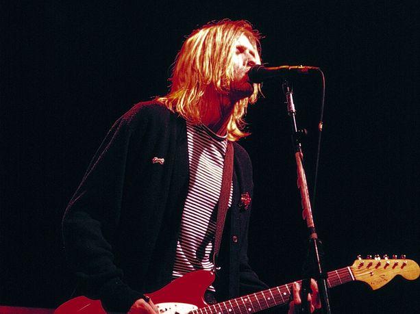Grunge-yhtye Nirvanan entinen manageri Danny Goldberg kirjoittaa ystävästään ja yhtyeen laulajasta Kurt Cobainista tuoreessa kirjassaan. Kuva on otettu 15. marraskuuta vuonna 1993 New Yorkissa.