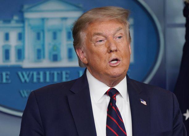 Donald Trumpilla on omasta mielestään erinomainen muisti.