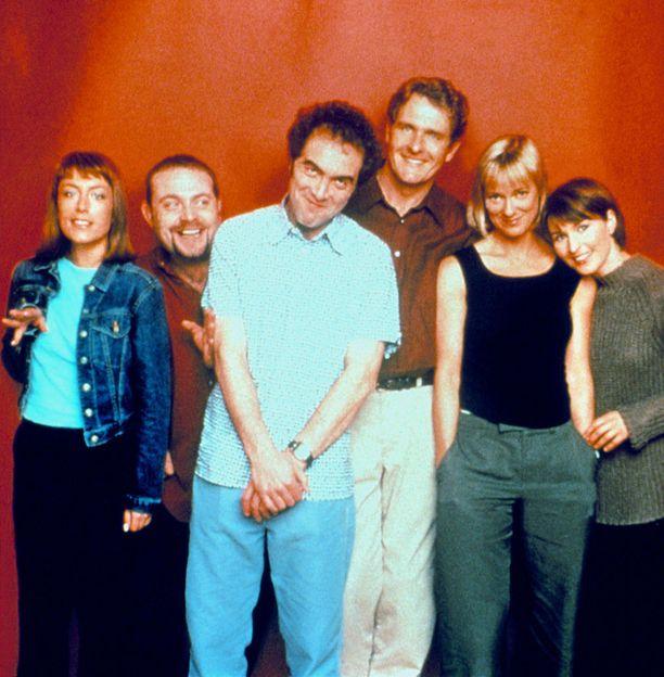 Jenny (Fay Ripley), Pete (John Thompson), Adam (James Nesbitt), David (Robert Bathurst), Karen (Hermione Norris) ja Rachel (Helen Baxendale) hurmasivat 90-luvun lopun ja 2000-luvun alun suosikkisarjassa.