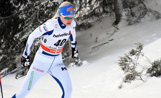 Anne Kyllönen keskeyttää Tour de Skin.