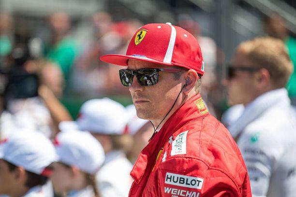 Kimi Räikkösen F1-ura uhkaa päättyä Abu Dhabin osakilpailuun.