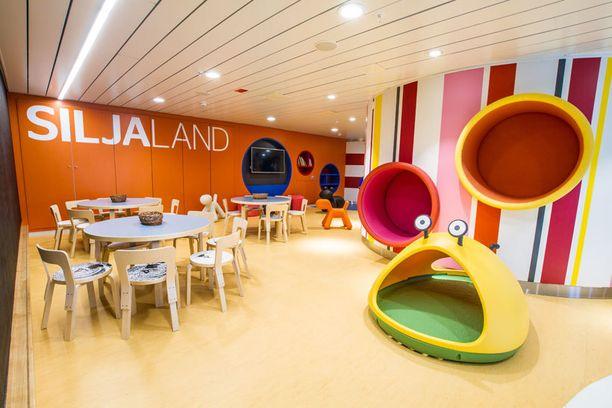 Kannelle 5 rakennettiin kokonaan uusi leikkimaailma lapsille.