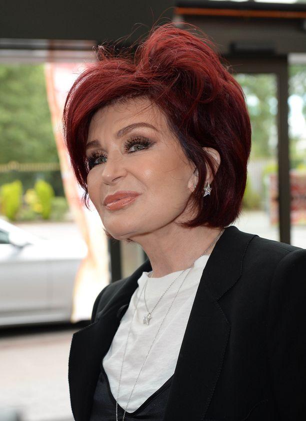 Sharon Osbourne ei sanoja säästele.
