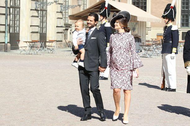 Prinsessa Sofia odottaa parin toista lasta.