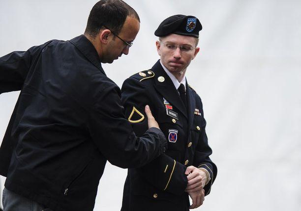 Valtavan tietovuodon takana ollut Chelsea Manning on vapaa. Arkistokuva vuodelta 2013.