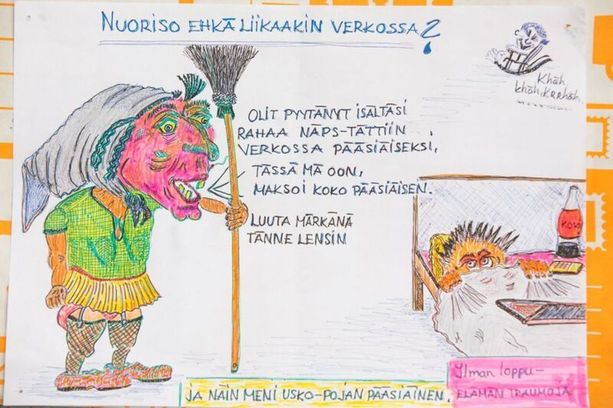 Taijatuuli järjesti kesällä Lappeenrannan Galleria Hoi Siessä isänsä piirroksista ja kirjeistä näyttelyn.