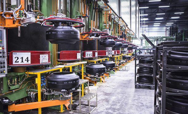 Nokian renkaat on yksi maailman johtavista erikoisrenkaiden valmistajista.