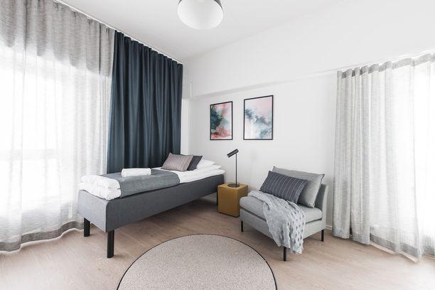 Pikku Huopalahden huoneistohotelliin tulee yksiöitä ja kaksioita.