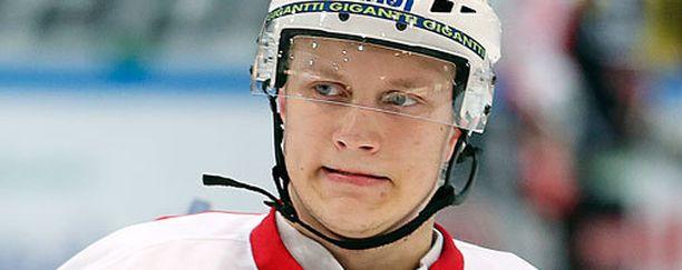 Teemu Pulkkinen jäi viime yönä ilman tehopisteitä.