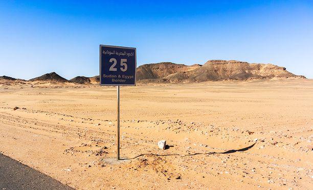 Yli 40 ihmistä kuoli Saharan autiomaahan. Kuvituskuva.