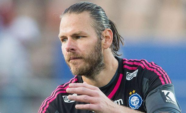 Daniel Örlund oli keskiviikkona surullisen hahmon ritari.