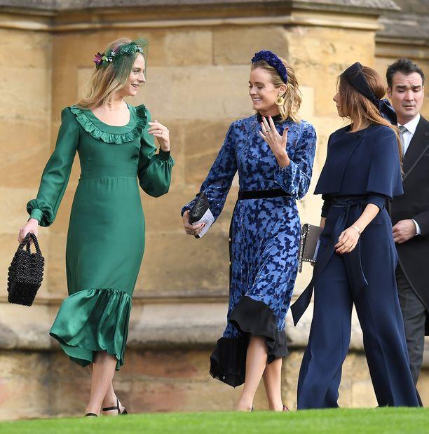 Cressida Bonas  on prinsessa Eugenien ystävä. Kaksikko on käynyt yhdessä esimerkiksi taidetapahtumissa.