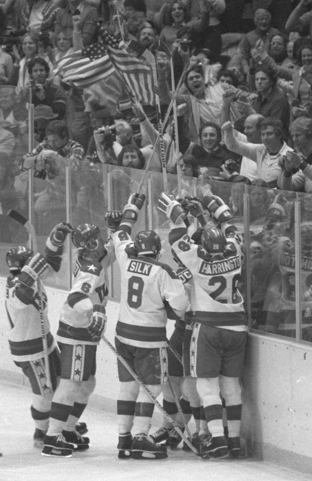 USA teki ihmeen ja voitti olympiakultaa kotikisoissaan 1980.