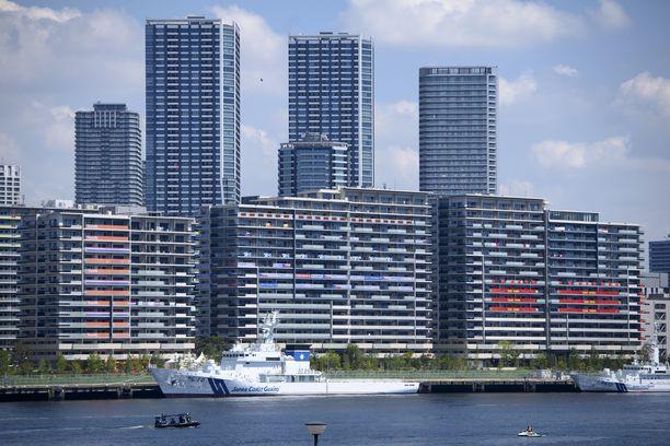 Tokion lahdella oli tapahtumaa perjantaina.