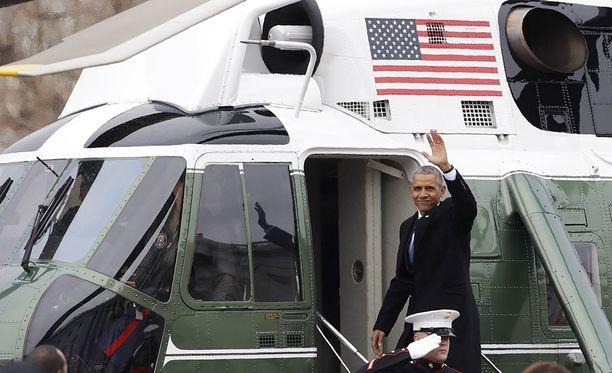 Bye bye! Nyt alkaa loma. Obama on kertonut nukkuvansa kaksi viikkoa, kun presidenttikausi loppuu.