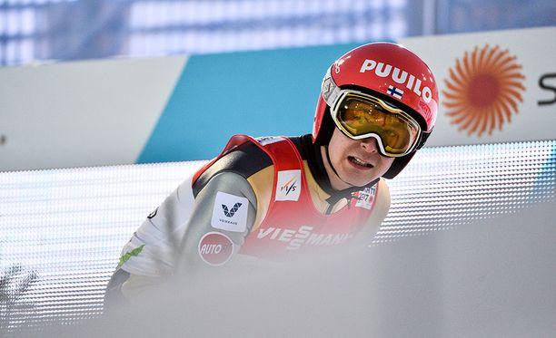 Jarkko Määtän sekä Antti Aallon ja Eetu Nousiaisen mäkiviikko päättyi päivää liian aikaisin.