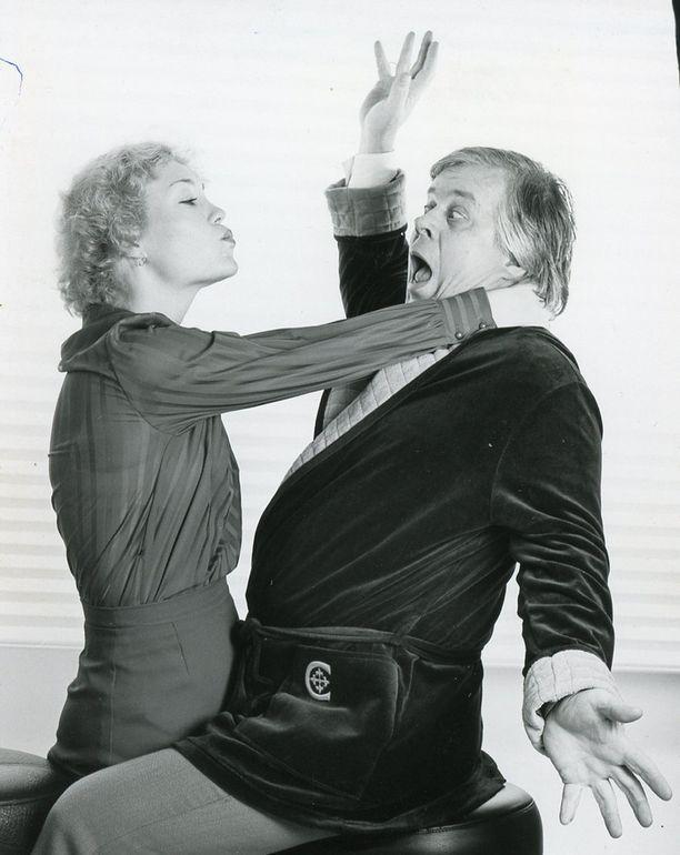 Oma Komediateatteri oli Salmiselle rakas yritys. Kuva vuodelta 1979.