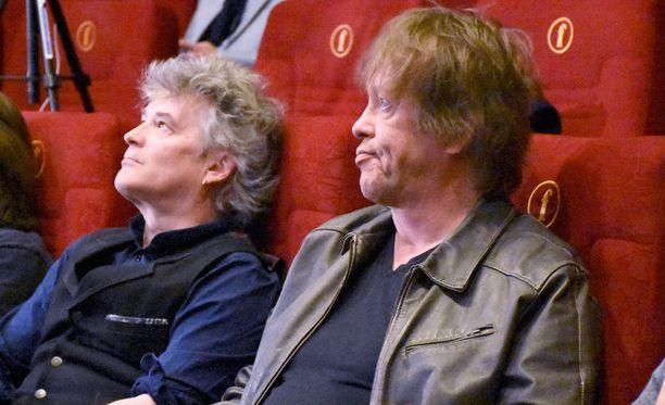 Juha Torvinen ja Martti Syrjä antavat Eput-elokuvan tekijätiimille vapaat kädet elokuvan koostamiseen.