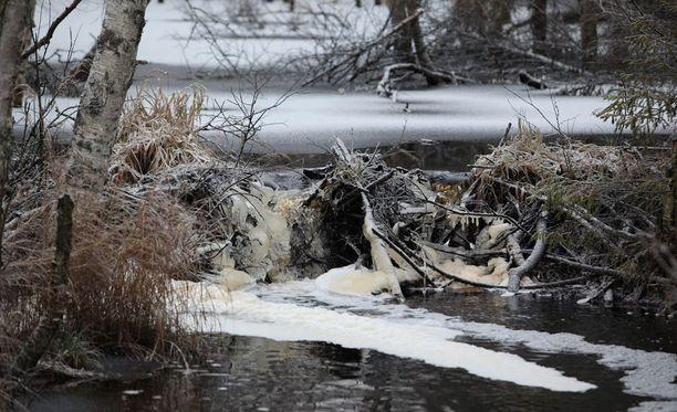 Talvivaara Sotkamo Oy:lle langetettiin jutussa 300 000 euron yhteisösakko. Arkistokuva vuodelta 2012.