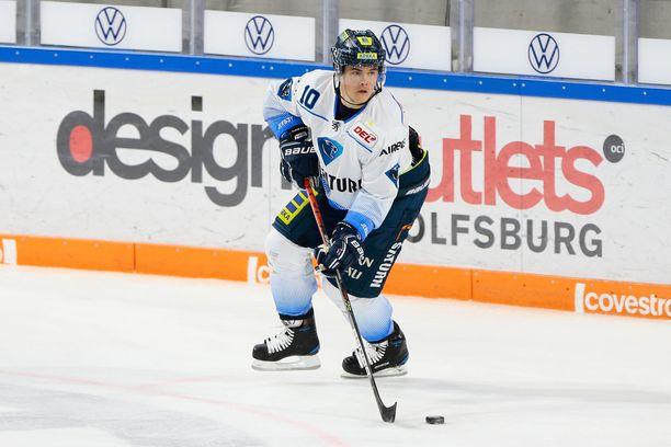 Ville Koistinen pelasi alkukauden DEL-liigan Ingolstadtissa.