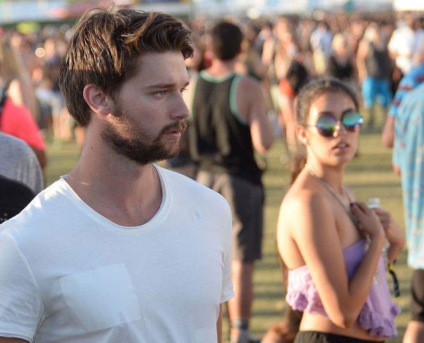 Patrick nähtiin viikko sitten juhlimassa Coachella-festareilla ilman Mileya.