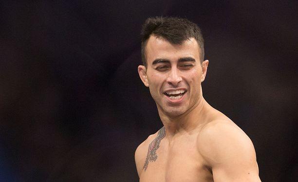 Makwan Amirkhani on otellut neljä kertaa UFC-häkissä.