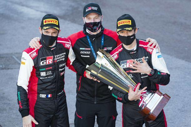 Jari-Matti Latvala on saanut nauttia Toyota-kuljettajien menestyksestä.