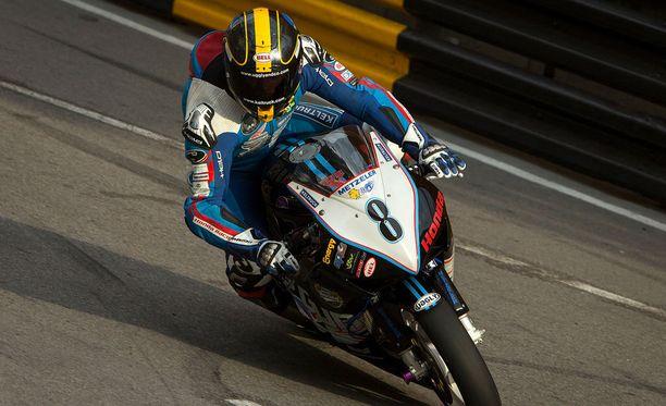 Daniel Hegarty kuoli onnettomuudessa Macaussa.