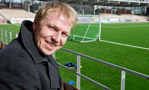 HJK:n toimitusjohtaja Aki Riihilahti haluaa voittaa.