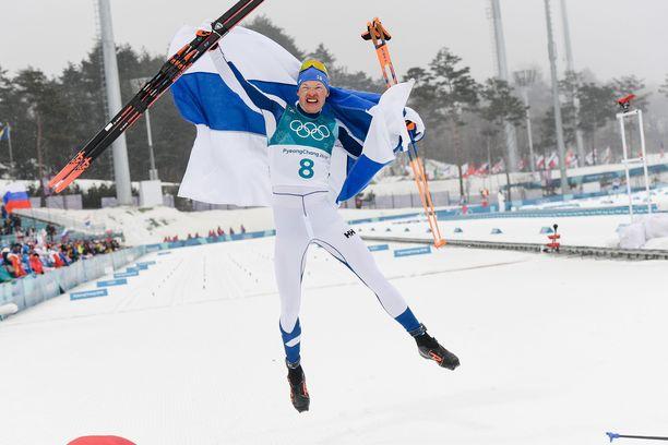 Uskomaton hiihto! Iivo Niskanen nappasi olympiakultaa 50 kilometrillä Pyeongchangin olympialaisissa helmikuussa.