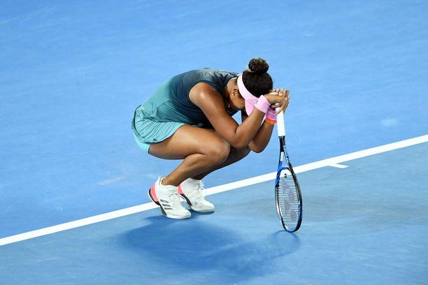 Naomi Osaka nousi maailmanlistan ykköseksi.